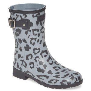Hunter Leopard Rain Boots